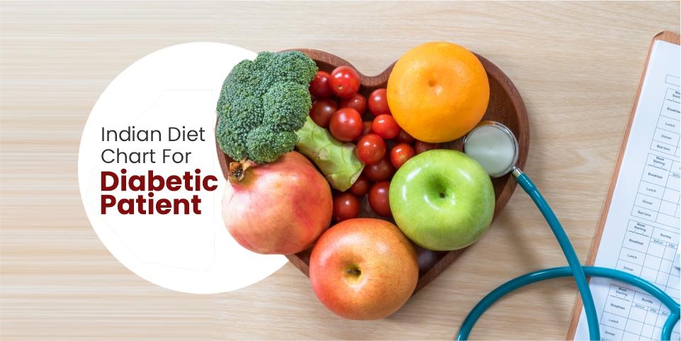 Indian Diet chart for diabetic patient